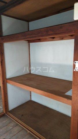 児玉荘 3号室の収納