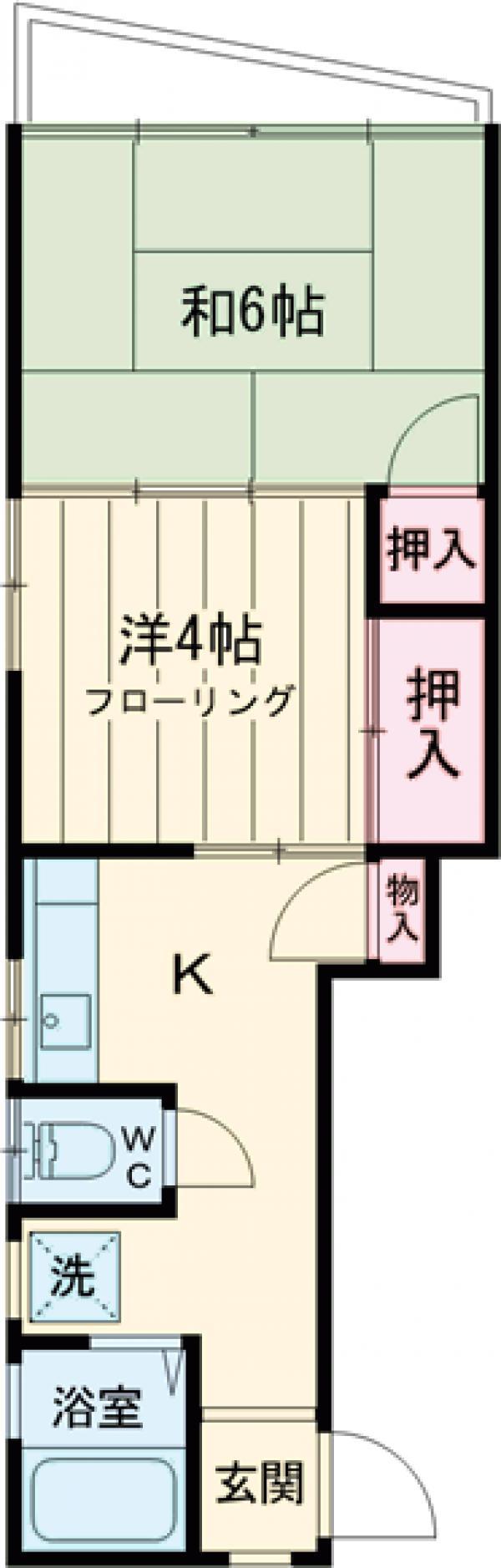 櫻井マンション 303号室の間取り