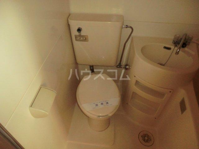 T・Oビル55 201号室のトイレ