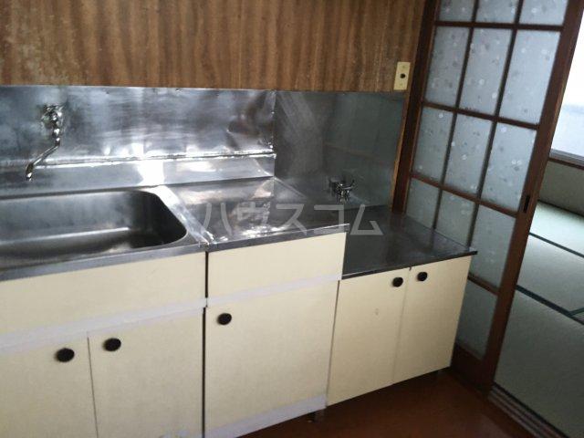 みと荘 202号室のキッチン
