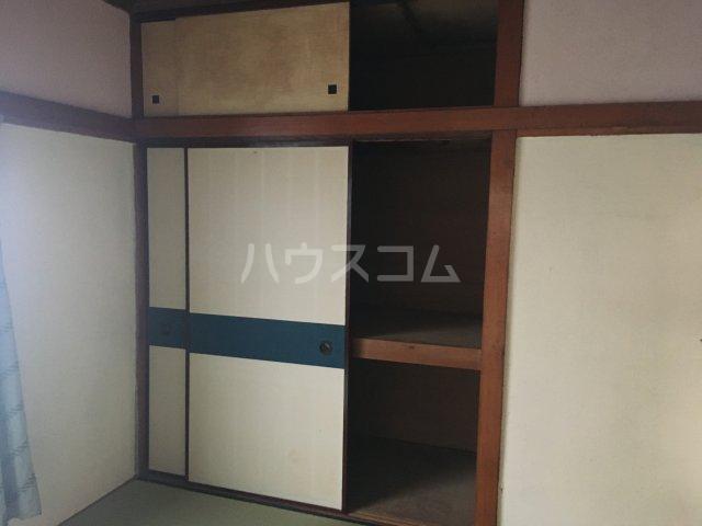 みと荘 202号室の収納