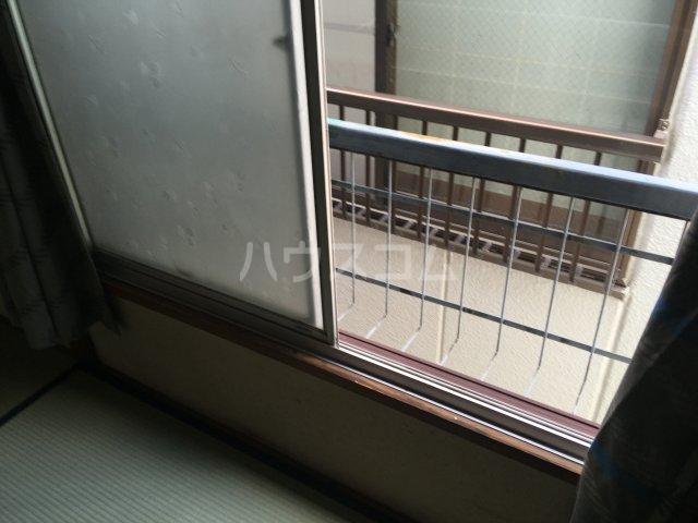 みと荘 202号室のバルコニー