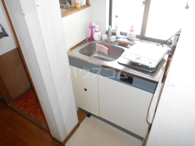 宝角アパート 204号室のキッチン