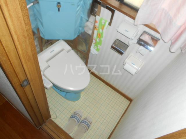 宝角アパート 204号室のトイレ