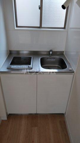 アムール駒込 205号室のキッチン