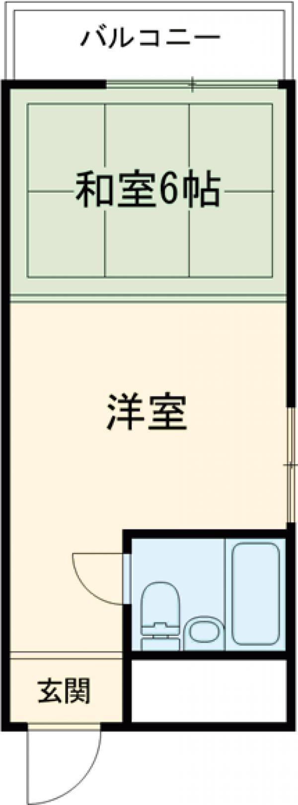 Tokyo Trip・4F号室の間取り