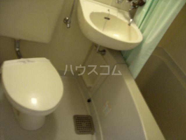 ハイムビュー 302号室のトイレ