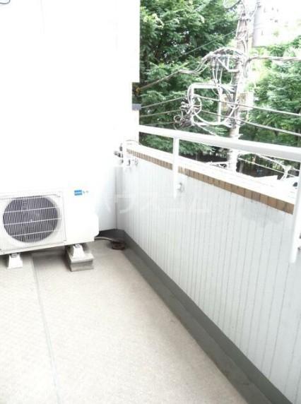 寿康ハイム 3-H号室のバルコニー