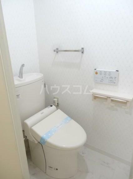 寿康ハイム 3-H号室のトイレ