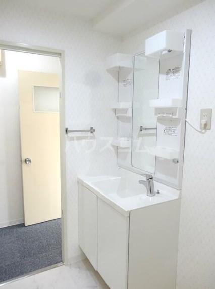 寿康ハイム 3-H号室の洗面所
