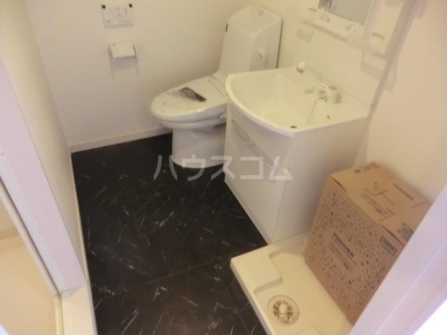 Le Ciel 302号室のトイレ