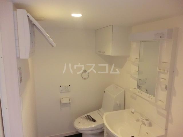 Le Ciel 302号室の洗面所