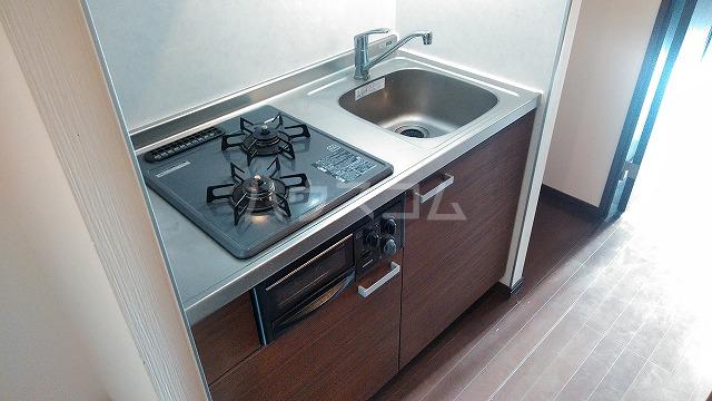 プリンセスライン池袋 603号室のキッチン