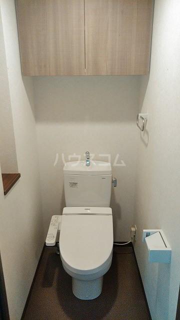 プリンセスライン池袋 603号室のトイレ
