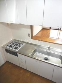 エクセレント竹下 302号室のキッチン