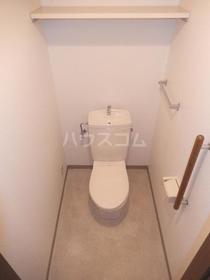 エクセレント竹下 302号室のトイレ