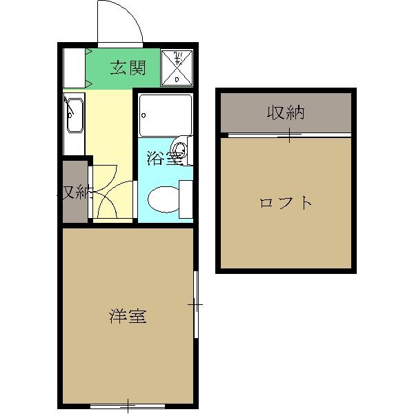 三京ハイツA館・103号室の間取り