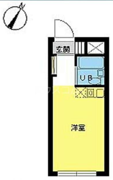 スカイコート高円寺・210号室の間取り