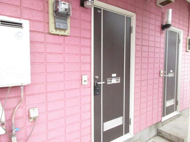 ピュアパレス 壱番館 102号室のセキュリティ