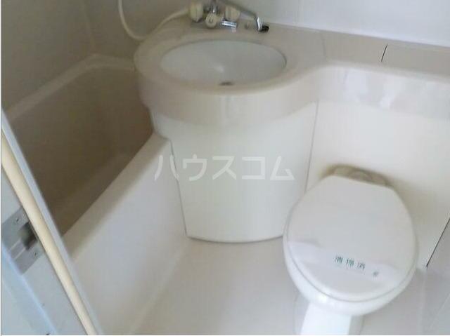 ハイムゆうび 202号室の風呂