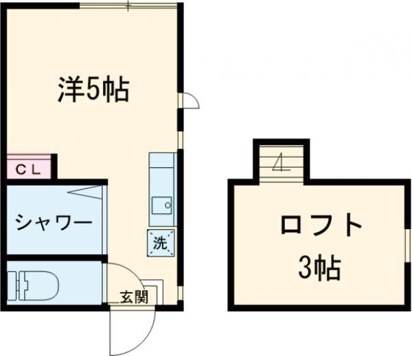 アーバンプレイス中野坂上Ⅳ A棟 207号室の間取り