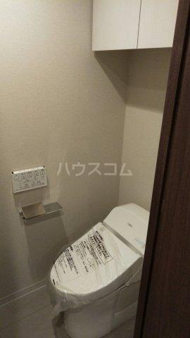 ザ・レジデンス駒込染井 101号室のトイレ
