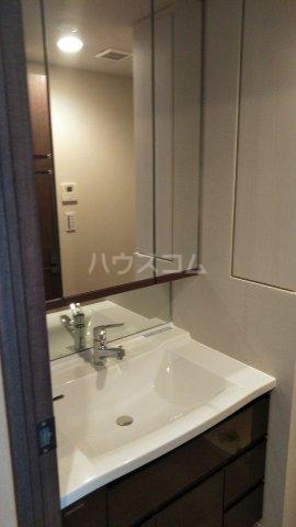 ザ・レジデンス駒込染井 206号室の洗面所