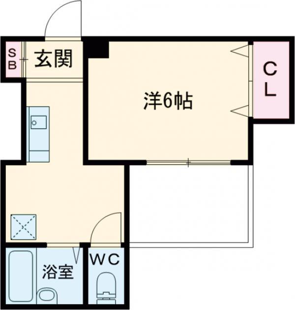 アキマンション 303号室の間取り