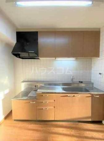 ディアホームズ鷺宮 303号室のキッチン