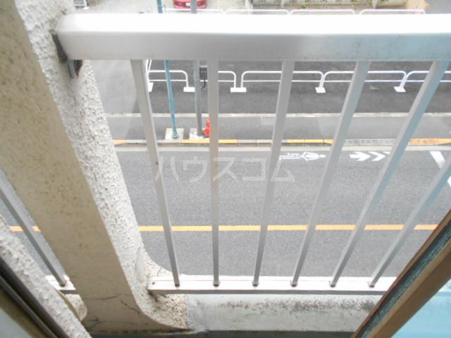 サンエイビルB 303号室のバルコニー