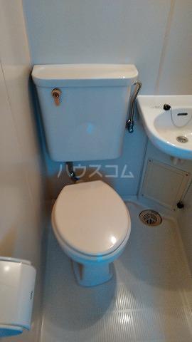メゾンOSABE 205号室のトイレ