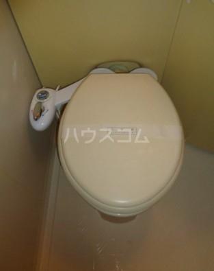 パークブリージェ井の頭 206号室のトイレ