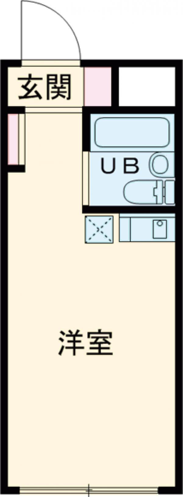 スカイコート高円寺・107号室の間取り