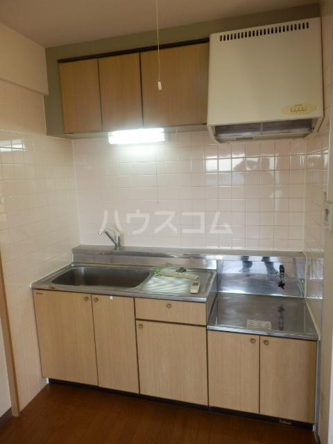 大島マンション1 203号室のキッチン