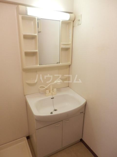 大島マンション1 203号室の洗面所