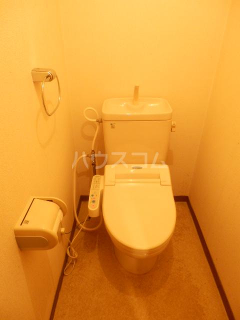 大島マンション1 203号室のトイレ