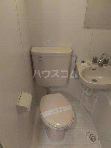 セザール中野 103号室のトイレ