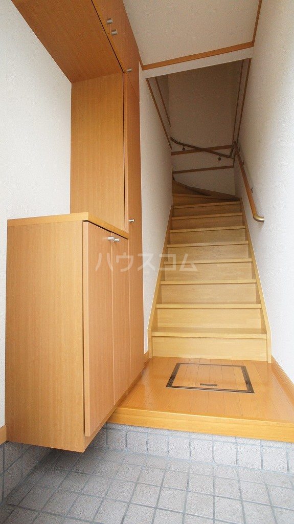 カレント 02020号室の玄関