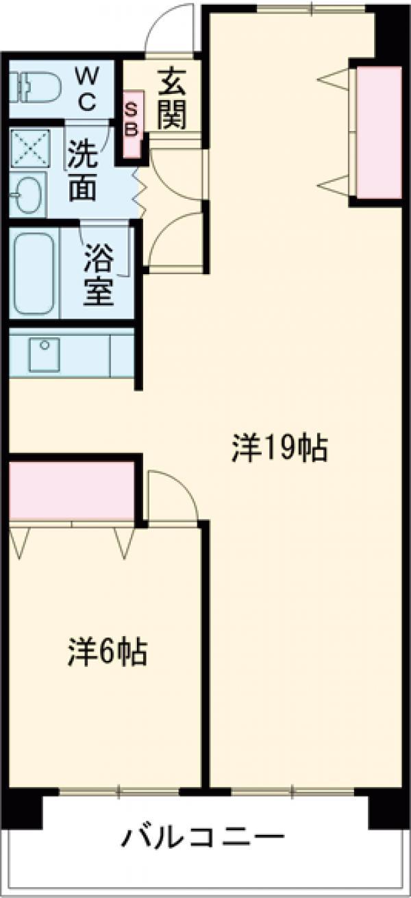 第2上井草パールマンション・105号室の間取り