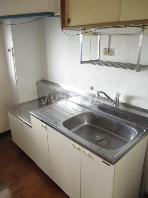 柏倉ハイツ 201号室のキッチン