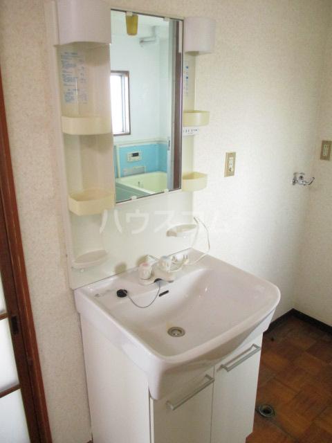 柏倉ハイツ 201号室の洗面所