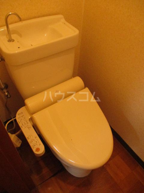 柏倉ハイツ 201号室のトイレ