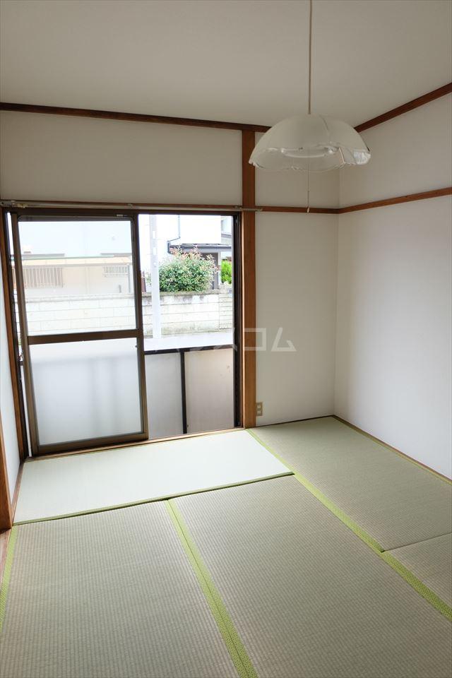 サンハイツ西川田 102号室のベッドルーム