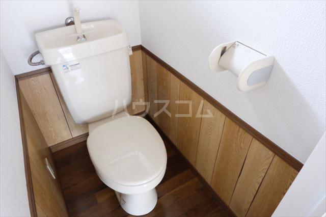 サンハイツ西川田 102号室のトイレ