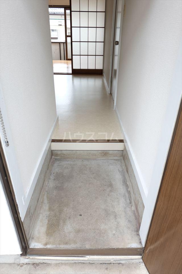 サンハイツ西川田 102号室の玄関