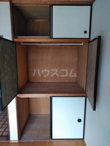 吉沢ハイツ 203号室の収納