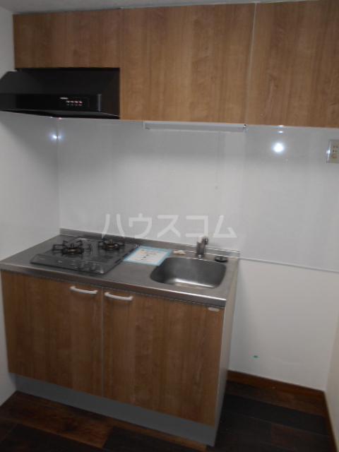 ブライト・ルシヨン 202号室のキッチン