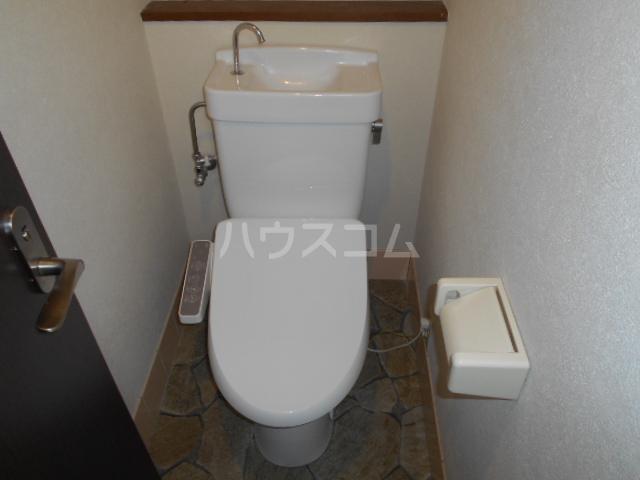 ブライト・ルシヨン 202号室のトイレ