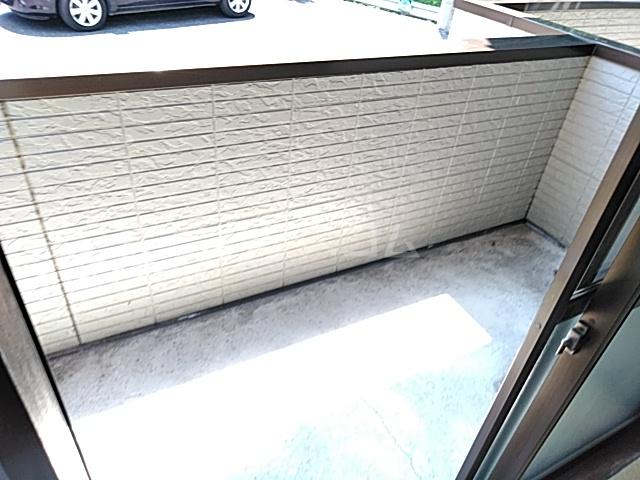 前橋コーポ 101号室のバルコニー