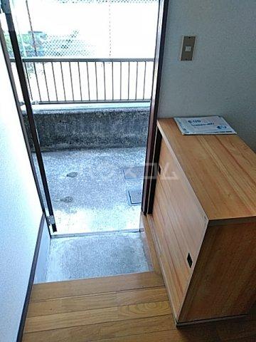 前橋コーポ 101号室の玄関